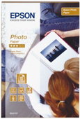 S042157: Epson Glossy Photo Paper, 4x6 Size, 70 Sheets, 190 gms