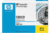 HP LaserJet 4 C8061D HP 61X Twin Pack High Capacity Toner Cartridges - C8061D