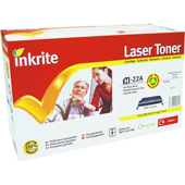 HP LaserJet 4 H-9722A Inkrite Premium Quality Compatible for HP C9722A Yellow Laser Cartridge
