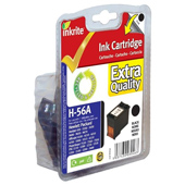 HP OfficeJet 4200 H56A Inkrite Premium Quality Black Ink Cartridge (Alternative to HP No 56, C6656A)