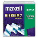 22919400: Maxell LTO2 Ultrium 200-400GB Data Cartridge