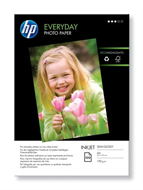 Q2510A: HP Everyday Glossy Photo Paper, A4, 200gms, 100 Sheets