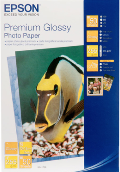 S041624: Epson S041624 Genuine Premium Glossy Photo Paper -255gsm