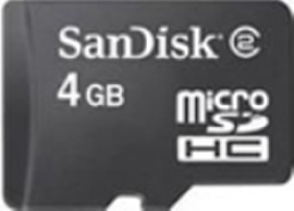 SDSDQM-004G-B35: SanDisk Micro SD Memory Card - 4GB (Card Only)